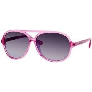 Juicy Couture Bright/S Womens Fashion Sunglasses   Pink/Gray Gradient