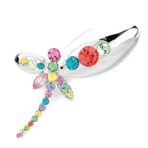 Perfect Gift   High Quality Color Dragonfly Brooch with