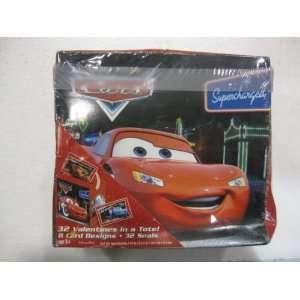 Disney Pixar Cars Valentine Cards 32 Pack In A Tote 8