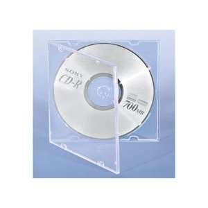 Single Clear Ultra Thin DVD/CD Case   100/Ctn