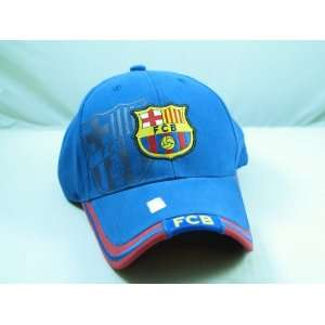 FC BARCELONA OFFICIAL TEAM LOGO CAP / HAT   FCB006 Sports