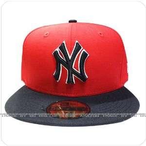 york yankees grey NY burgundy visor fitted cap hat
