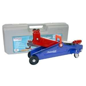 BR Tools 2 Ton Floor Jack with Carrying Case Automotive
