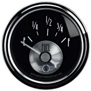 Auto Meter 2014 Prestige Black 2 1/16 0 90 Ohm Fuel Level