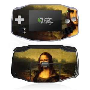 Design Skins for Nintendo Game Boy Advance   Mona Lisa