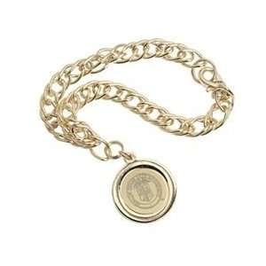 Texas Tech   Charm Bracelet   Gold
