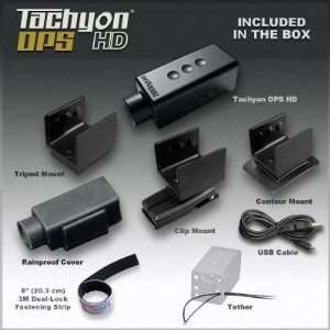 Tachyon OPS HD & Picatinny Rail Mount Gun Cam Bundle Camera & Photo