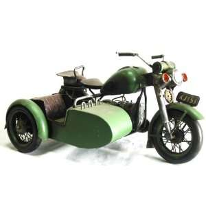 Harley Davidson Military War Motorcycle With Side Car