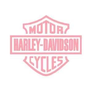 Harley Davidson Sticker   pink in color