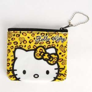 Hello Kitty Head Coin Purse Mini Wallet Keychain Toys & Games