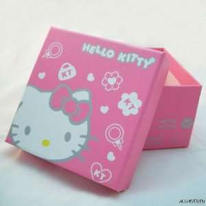 6 PCS Hello Kitty Bracelet Watch Jewelry Gift Paper Box