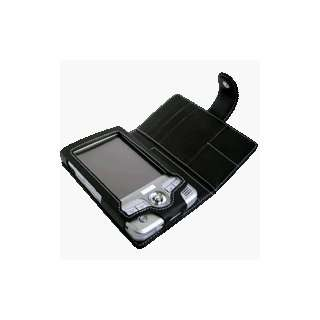 Leather Bi fold Case HP iPaq 5400 Series (Black) Cell