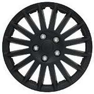 Pilot Automotive WH521 15C B Indy Wheel Cover   Matte Black   15 Inch