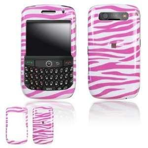 Blackberry Curve 8900 Javelin Cell Phone Pink White Zebra