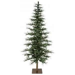 7 Untrimmed Jersey Pine Green Christmas Tree Pre Lit