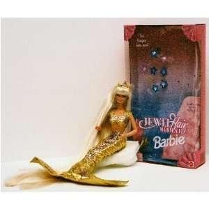 1995 Jewel Hair Mermaid Barbie Doll  Toys & Games