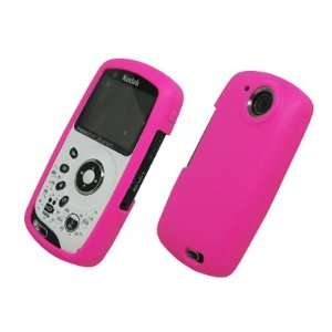 EMPIRE Hot Pink Silicone Cover Case for Kodak Playsport ZX3