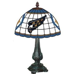 Washington Capitals NHL Stained Glass Table Lamp Sports & Outdoors