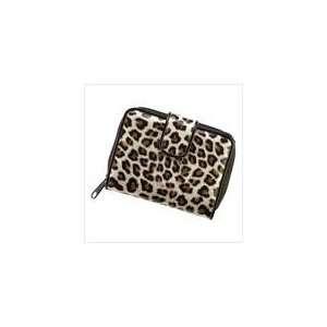 Silver Metallic Leopard Print Wild Wallet Fashion Purse