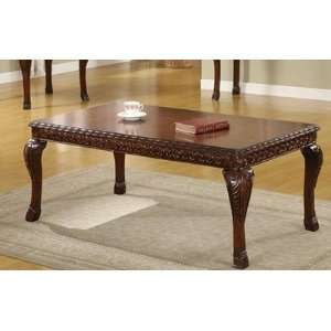 Formal Coffee Table by Poundex Furniture & Decor