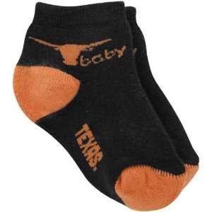 NCAA Texas Longhorns Infant Black Focal Orange Team Logo