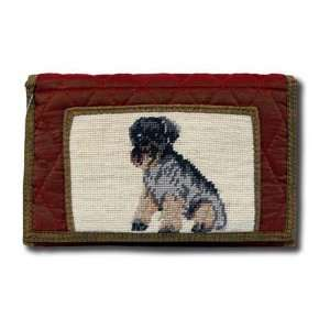 Claws Collection Mini Schnauzer Dog Puppy Large wallet
