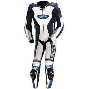 Teknic Xcelerator One Piece Suit   46/White/Blue/Black