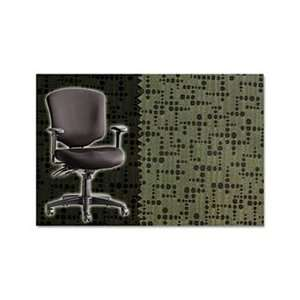 Wrigley Pro Series Mid Back Multifunction Chair, Mime Palm