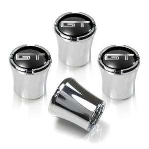 Ford Mustang GT Chrome Tire Stem Valve Caps Automotive