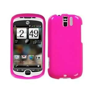 Neon Hot Pink Phone Cover Protector Case for HTC myTouch