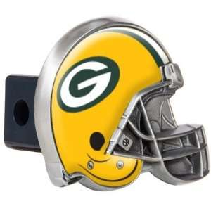 Packers Metal Helmet Trailer Hitch Cover