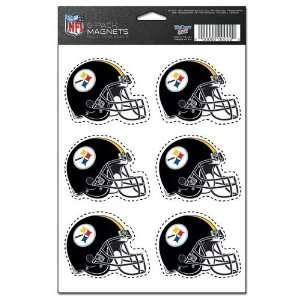 NFL Pittsburgh Steelers Magnet Set   6pk Sports