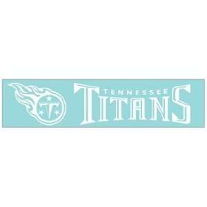 NFL Tennessee Titans 4x16 Die Cut Decal