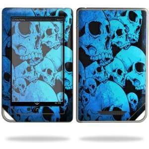 for  Nook Tablet eReader   Blue Skulls Electronics