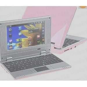 Pink 7 Mini Netbook Laptop Notebook WIFI Windows 2GB HD