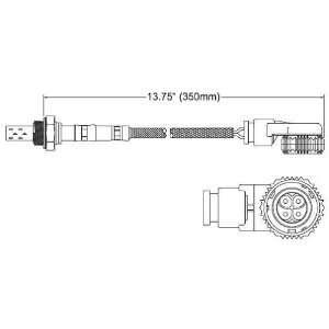 Walker 250 24040 Four Wire Oxygen Sensor Automotive