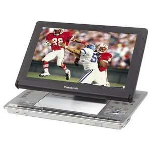 Panasonic DVD LX8 9 Inch LCD Portable DVD Player (Silver): MP3 Players