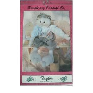 TAYLOR   24 MUSLIN CAT DOLL SEWING PATTERN FROM RASPBERRY