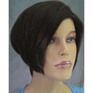 Short Page Bob ZigZag Part SHERYL Wig #2 DARKEST BROWN by