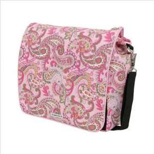 Bags Jess Pink Paisley Jessica Diaper Messenger Bag / Backpack in Pink