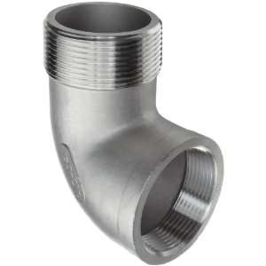 Stainless Steel 304 Cast Pipe Fitting, 90 Degree Street Elbow, MSS SP