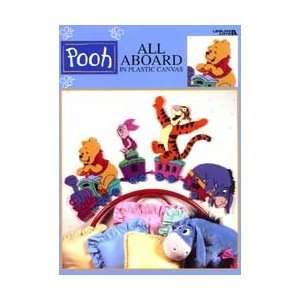 Pooh All Aboard in Plastic Canvas (Leisure Arts #1882