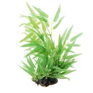 Como Fish Tank Plastic Plant Decor Aquascaping Green 13.8
