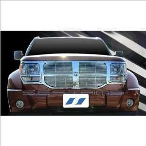 SES Trims Chrome Billet Upper Grille 07 11 Dodge Nitro