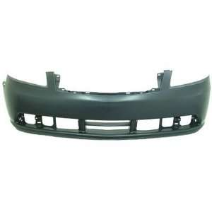 DS04280BB Infiniti M35/M45 Primed Black Replacement Front Bumper Cover