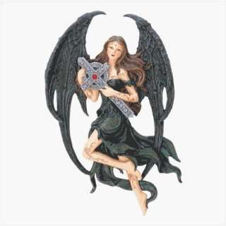 Gothic Angel Wall Plaque: Home & Kitchen