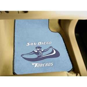San Diego Toreros NCAA Car Floor Mats (2 Front)  Sports