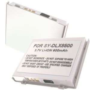 ion Battery for Sanyo SCP 8500 Katana DLX (Silver)