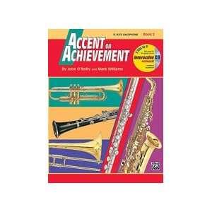 Achievement, Book 2   Eb Alto Saxophone   Bk+CD Musical Instruments