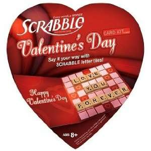 Scrabble Valentines Day Card Kit & Game Toys & Games
